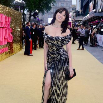 Daisy Lowe flashes Spanx on red carpet at Ab Fab premiere