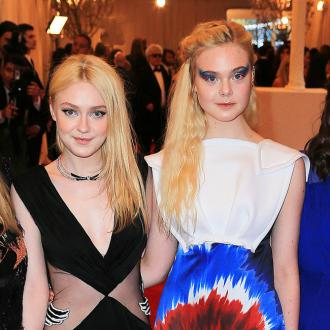 Dakota and Elle Fanning team up with Rodarte?