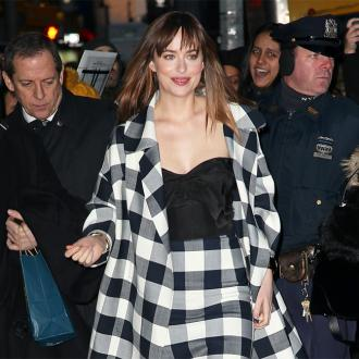 Dakota Johnson 'wore a patch over her pubic area'