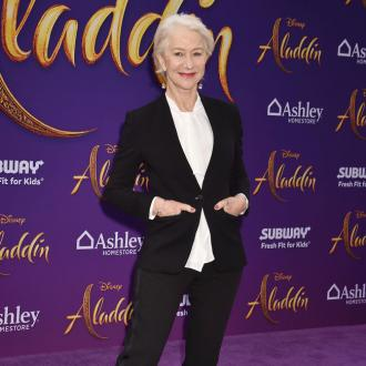 Dame Helen Mirren chased away angry bear
