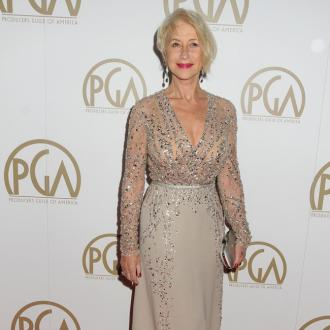 Helen Mirren Cuts Her Own Hair