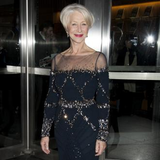 Dame Helen Mirren Has Awards Room At House