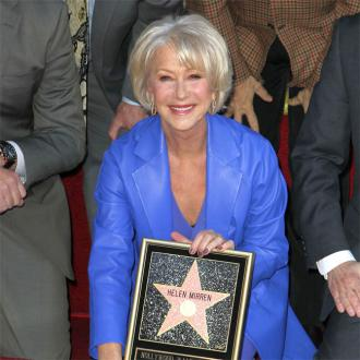 Helen Mirren Receives Walk Of Fame Star