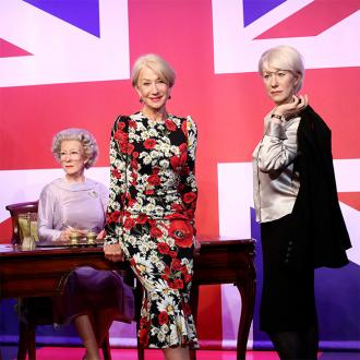 Dame Helen Mirren Meets Wax Models