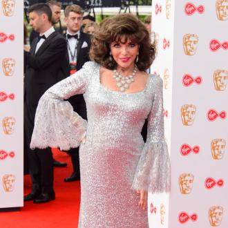 Dame Joan Collins Is 'Disciplined'