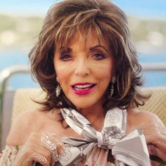 Joan Collins dishes on the key to a 'happy marriage'