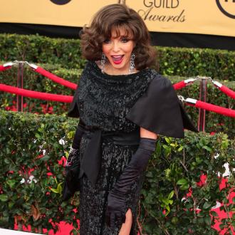Joan Collins Becomes A Dame