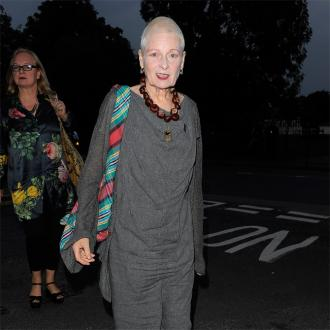 Dame Vivienne Westwood turns London Fashion Week show in political protest
