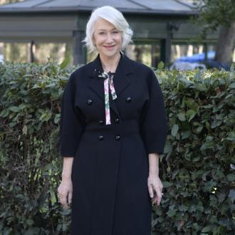Dame Helen Mirren embraced bare-faced look