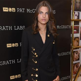 Elizabeth Hurley's son Damian recreates her iconic Versace look