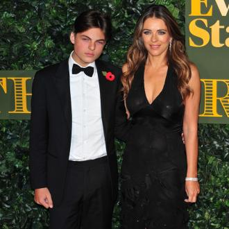 Elizabeth Hurley loves her son's clothes