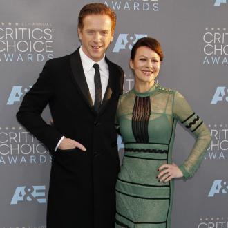 Helen McCrory admits Damian Lewis romance was a 'fluke'