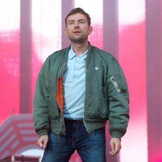 Damon Albarn carried off stage