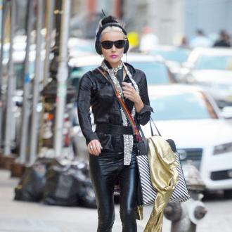 Daphne Guinness's music career will not get in the way of fashion