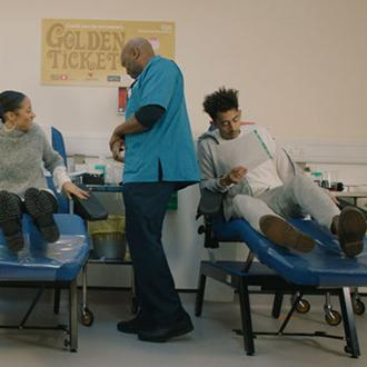 Rizzle Kicks star backs NHS Blood Date2Donate campaign