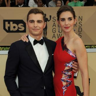 Alison Brie can't call Dave Franco by his real name