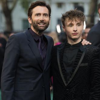 David Tennant told son Ty to 'always be on time'