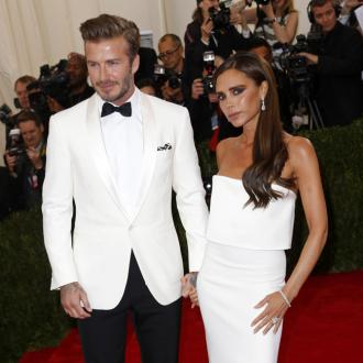 David And Victoria Beckham 'Just Busy'