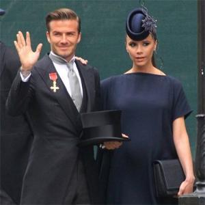 David Beckham Gets Fashion Help
