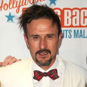 David Arquette Supported By Courteney & Coco