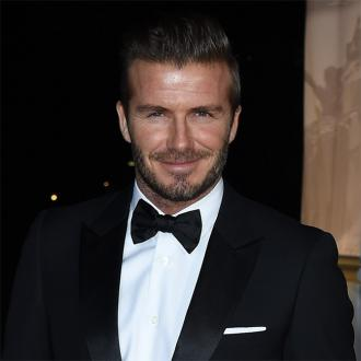 David Beckham 'Not Serious' About Acting
