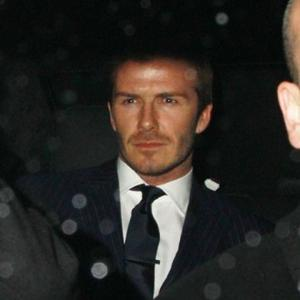 David Beckham Considers Intimate Tattoo