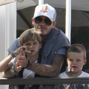 David Beckham Hates Leaving Family