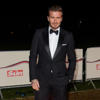 Heroic David Beckham