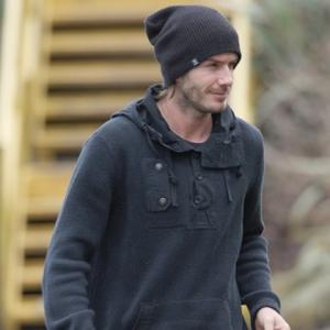 David Beckham Watches Victoria Launch New Collection
