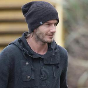 David Beckham Takes His Mum For Pie And Mash