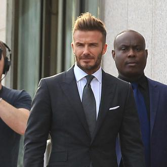 David Beckham admits he's a 'softie'