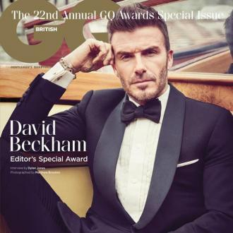 David Beckham to receive special prize at GQ Men of The Year Awards