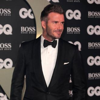David Beckham surprises pensioner by turning up at his home