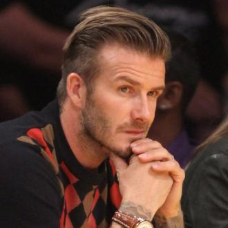 David Beckham Loves British Christmas