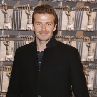 David Beckham Treats Family To Flash Cars