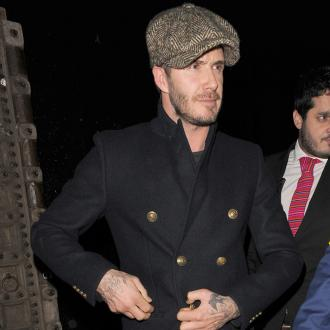 David Beckham Visits Scottish Whisky Plants