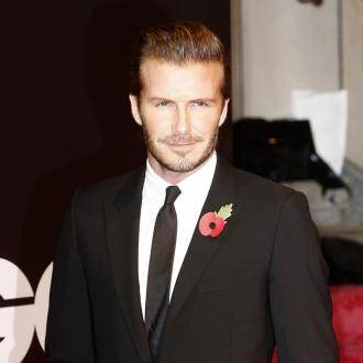 David Beckham Loves Lego