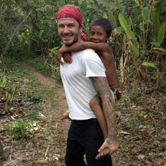 David Beckham Feared Frogs In South America