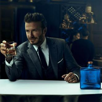 David Beckham launches whiskey