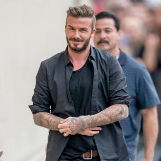 David Beckham Takes Soccer Dads On Private Jet