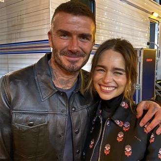 David Beckham was 'a little star struck' to meet Emilia Clarke