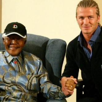 David Beckham Thanks Nelson Mandela