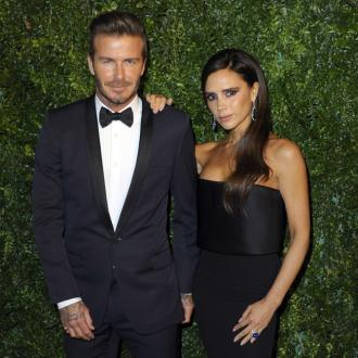 Victoria Beckham buys David a neon heart