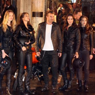 David Beckham: Harper Has American Manners