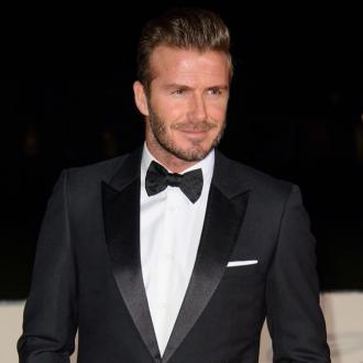 David Beckham Honours Military