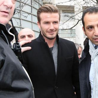 David Beckham's Teammate Wants To Take Him Shopping