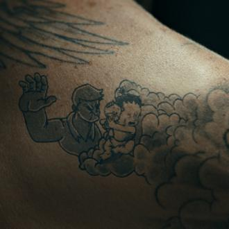 David Beckham's tattoos come to life for UNICEF campaign
