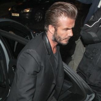 David Beckham Mobbed At Swimwear Launch