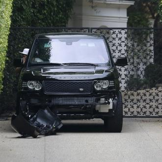 David Beckham Involved In Car Crash