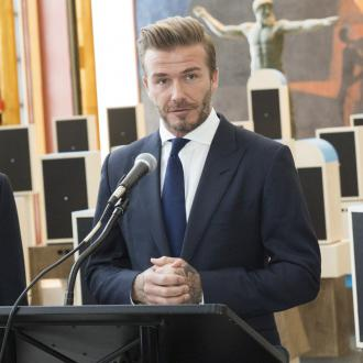 David Beckham's tearful speech